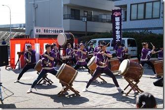 関東やまと太鼓さんの勇壮な演奏