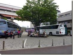 堀切菖蒲園の観光バス