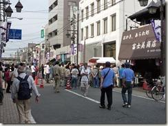 堀切菖蒲まつり2012 舞台イベント前
