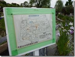 堀切菖蒲園株分けの予定図 2010