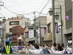 堀切菖蒲祭り09 菖蒲祭り音頭